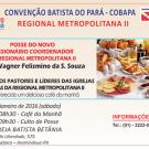 Convite – Posse do novo Missionário Coordenador da Regional Metropolitana II