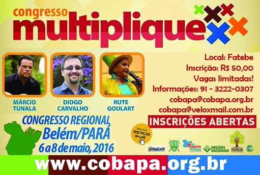 Congresso Regional Norte Multiplique - Belém/Pa