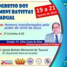 CARTAZ DO CONGRESSO DE HOMENS