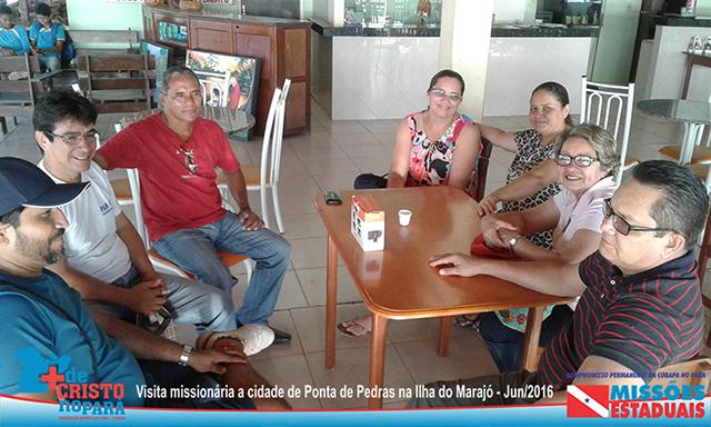 Equipe missionária da Cobapa