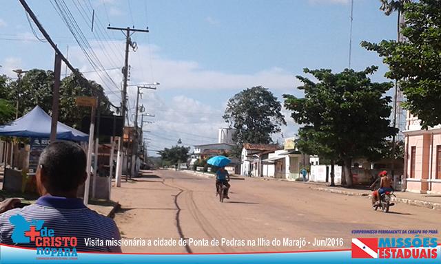 Rua em Ponta de Pedras