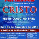 Congressos das Igrejas 2016 – Metropolitana I