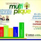 Seminário Multiplique na  PIB de Capanema