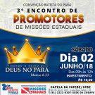Desperta Pará e Congresso de Promotores de Missões Estaduais - 2018