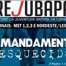 ÚLTIMAS VAGAS! Inscrição aberta para Rejubapa 2019 – O mandamento esquecido (Castanhal)