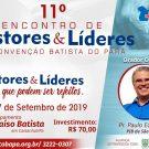 11º Encontro de Pastores e líderes da Cobapa - Inscrição on-line