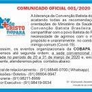 Coronavírus: Comunicado da Cobapa