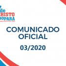 Comunicado 03/2020 -