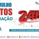 Campanha de Oração pelo Brasil - 24h de orações