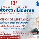 Participe do 13° Encontro de Pastores e Líderes - 2021